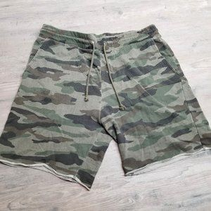 H&M Camo Knit Sweat Shorts. Brand New! Super Soft!